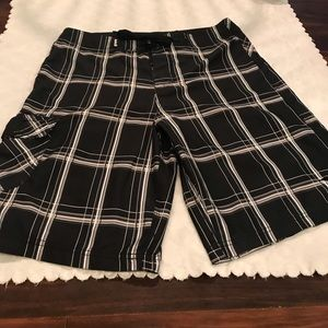 Hurley Men's Shorts - Swim trunks  black Size 32